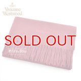 Vivienne Westwood ヴィヴィアンマフラー  m9024c504101 同色ロゴマフラー ダークレッド  S60909024  909024 C54 101