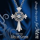 【】クロスフォーメン ネックレス NMP-001 Lily of Cross Dancing Stoneシリーズ 男性用ネックレスCrossfor NewYork forMen【】
