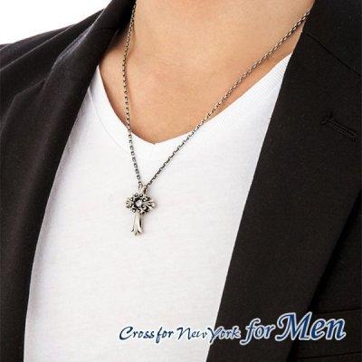 画像4: 【】クロスフォーメン ネックレス NMP-001 Lily of Cross Dancing Stoneシリーズ 男性用ネックレスCrossfor NewYork forMen【】