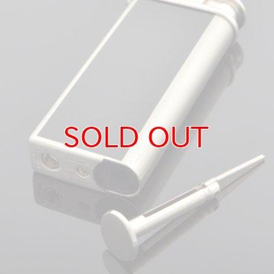 画像3: 【】サロメ 電子ライター PSP-15 シルバーサテーナ 黒プリント sarome ブランド ライター psp-15