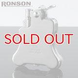 【】ロンソンライター[RONSON] r010022 バンジョー フリントオイルライター クロームサテン 【】