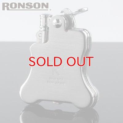 画像1: 【】ロンソンライター[RONSON] r010022 バンジョー フリントオイルライター クロームサテン 【】