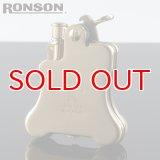 【】ロンソンライター[RONSON] r010023 バンジョー フリントオイルライター ブラスサテン 【】