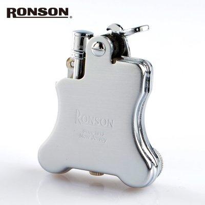 画像1: ロンソン オイルライター バンジョー r010025 [RONSON] クロームサテン