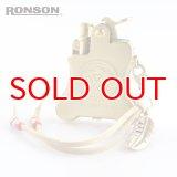 ロンソン オイルライター バンジョー [RONSON] r012016b イーグルコレクション ブラス古美 2016 Limited Edition