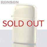 【m】 ロンソン タイフーン フリントオイルライター RT-SA2 オリジナルサイドアラベスク 真鍮イブシ エッチング2面加工 【】