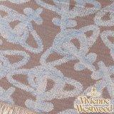 【送料無料・新品・正規品】 s20-f756-0001 Vivienne Westwood ヴィヴィアンストール オーブロゴ入りストールS20-F756-0001 ブルー×グレー 【】