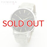 TOMORA TOKYO t-1601-gbkgy 日本製クォーツ腕時計 T-1601 GBKGY