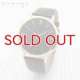 TOMORA TOKYO t-1601-pbkbr 日本製クォーツ腕時計 T-1601 PBKBR