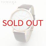 TOMORA TOKYO t-1601-pwhbr 日本製クォーツ腕時計 T-1601 PWHBR