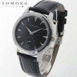 TOMORA TOKYO t-1602-ssbk 日本製クォーツ スモールセコンド腕時計 T-1602 SSBK