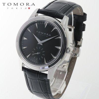 画像1: TOMORA TOKYO t-1602-ssbk 日本製クォーツ スモールセコンド腕時計 T-1602 SSBK