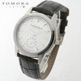 TOMORA TOKYO t-1602-sswh 日本製クォーツ スモールセコンド腕時計 T-1602 SSWH