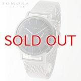 TOMORA TOKYO t-1603-bk 日本製クォーツ 日付・曜日カレンダー付き 腕時計 T-1603 BK