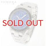 TOMORA TOKYO t-1604-ssbl 日本製クォーツ クロノグラフ 腕時計 T-1604 SSBL