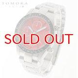 TOMORA TOKYO t-1604-ssrd 日本製クォーツ クロノグラフ 腕時計 T-1604 SSRD