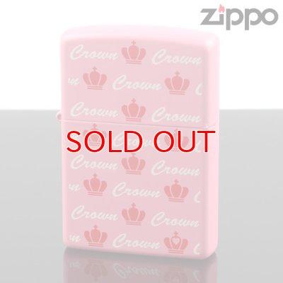 画像1: 【m】ZIPPO zp-crownpk クラウンハートPK ( zippo ジッポー ) オイルライター 【】