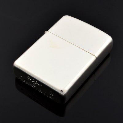 画像3: 【m】Zippo ジッポライター zp105035 塊 AROMORミガキ 超越銀メッキ 【】