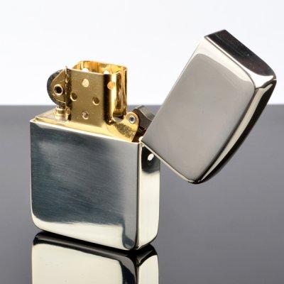 画像2: 【m】Zippo ジッポライター zp105059 塊 1941ミガキ 超越銀メッキ 【】