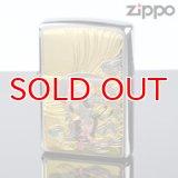 【m】Zippo ジッポライター zp442630 ジャパニーズ・スタイル デンチュウバン ライジン 【】