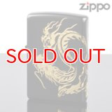 【m】Zippo ジッポライター zp623955 ドラゴンソウル ブラック&ゴールド 【】