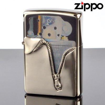 画像1: 【m】Zippo ジッポライター zp62840398 ジッパーメタルシャンバー 【】